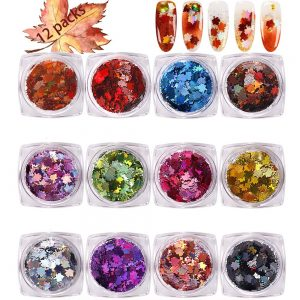Fall Nail Art - 12 Color Mix