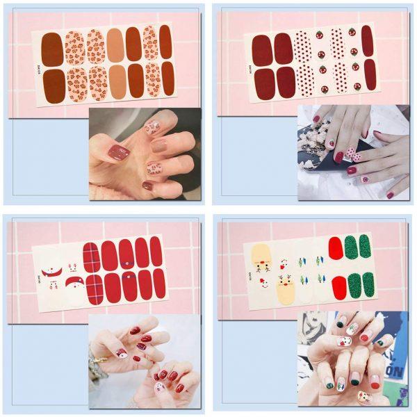 Nail Stickers Nail Art. Nail Wraps. 14 Sheet
