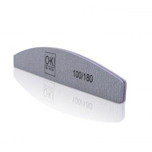 Double Sided Manicure Nail File Emery Boards Grit 100/180 (Packs of 25)